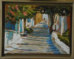 Ruelle, Grèce
