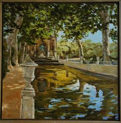 Fontaine Medicis, Eté - 80x80