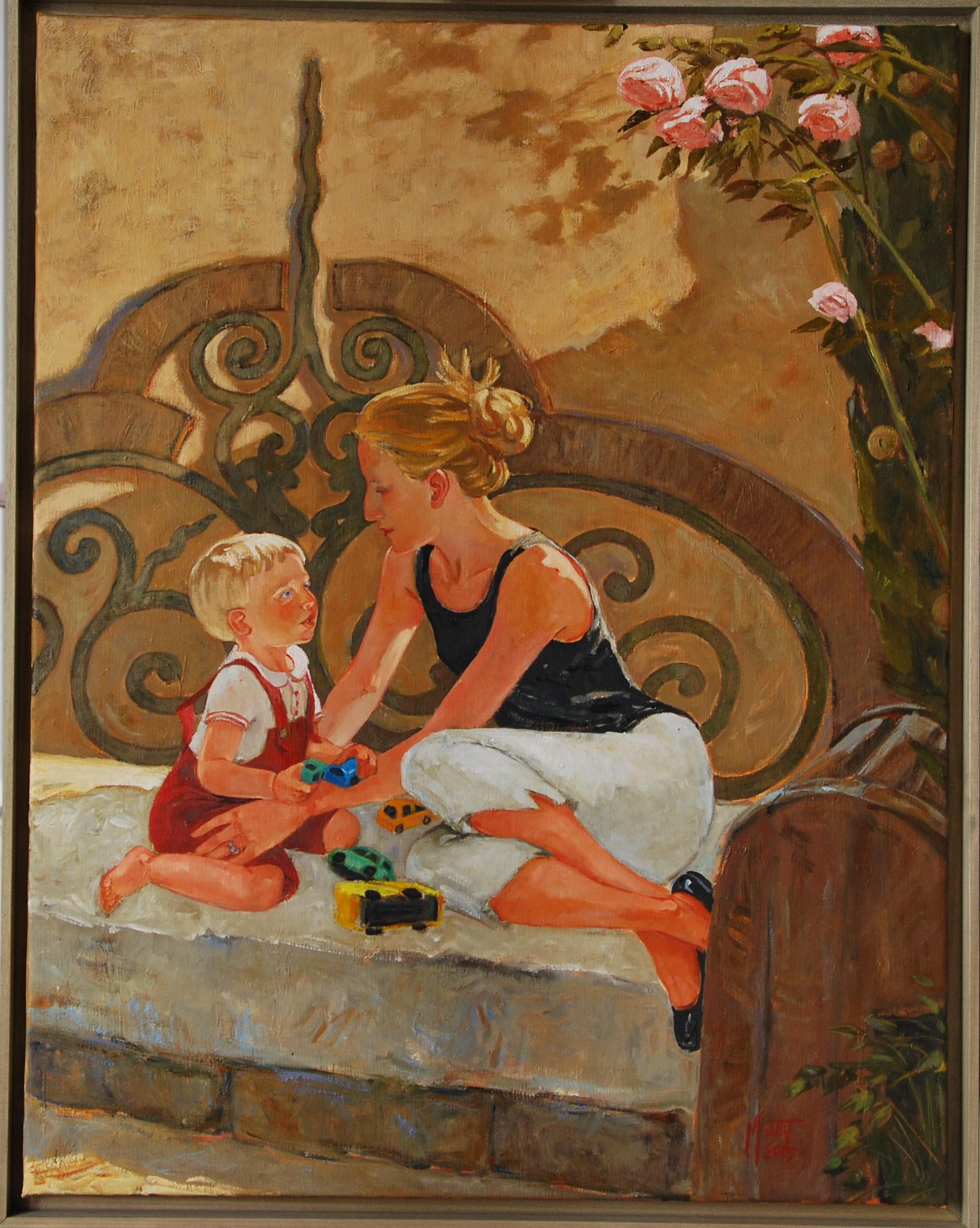 Laure et Adrien, 120X85