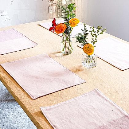 Pastel Pink Placemats