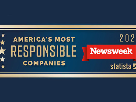Newsweek Names Tetra Tech One of America's Most Responsible Companies 2021
