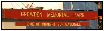 Growden Memorial Park sign