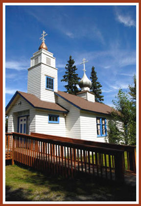 Eklutna church