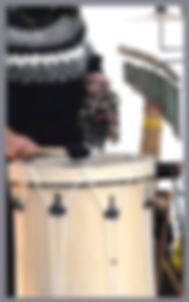 Latino drummer