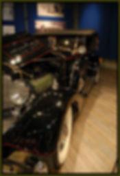 shiny antique auto