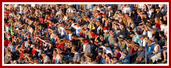 Midnight Sun Baseball spectators