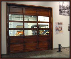 restoration shop of car museum