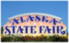 Alaska State Fair sign