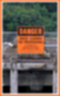 dock closed sign