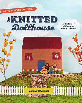 the knitted dollhouse