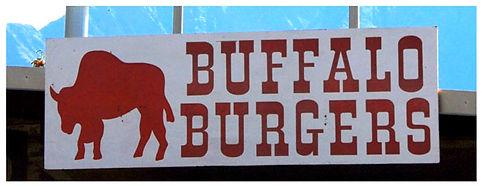 buffalo burgers sign