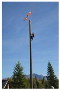 lumberjack climber