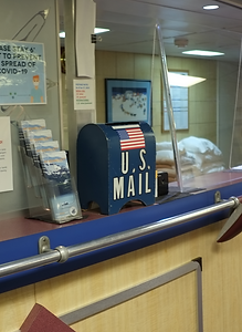 Tiny mail box on board