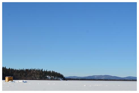 Alaska DNR public use ice hut