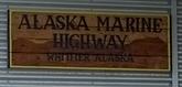 AK Marine Hwy Sign