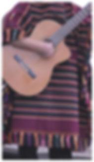 guitar player in Latino band