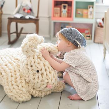 Flax & Twine's Giant Bunny