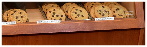 Chocolate Chip cookie display