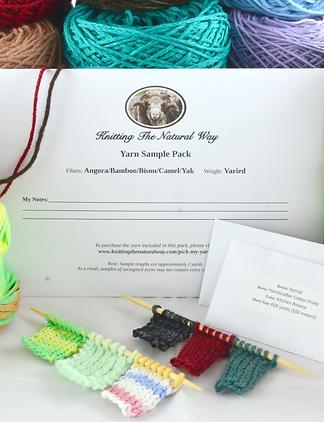 Yarn Sample Packs