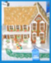 Winning gingerbread house