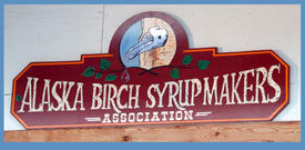 Alaska Birch Syrup Makers sign