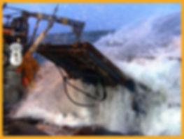man crab fishing