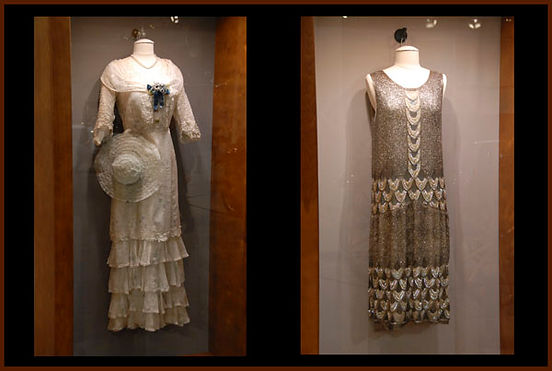 vintage dress display case
