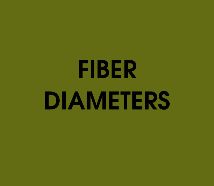 Fiber Diameters Quiz