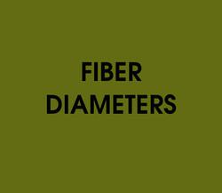 Fiber Diameters Quiz