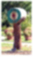 axe throwing target