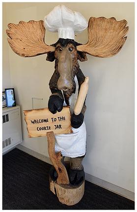 The Cookie Jar Moose maitre d'