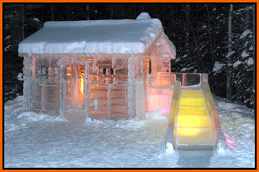 ice cabin