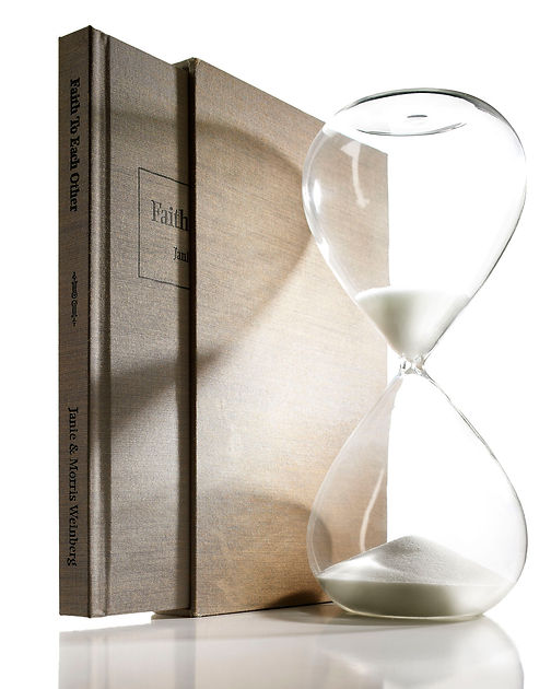 Book And Hour Glass