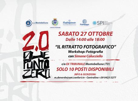 Corso di ritratto fotografico a Treviso - 27 ottobre 2018