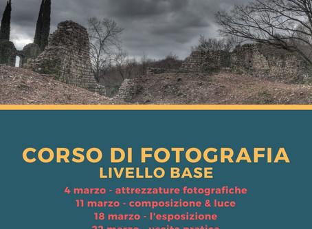 Corsi di fotografia a Treviso - Primavera 2020