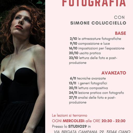 Corsi di fotografia a Treviso - Autunno 2019