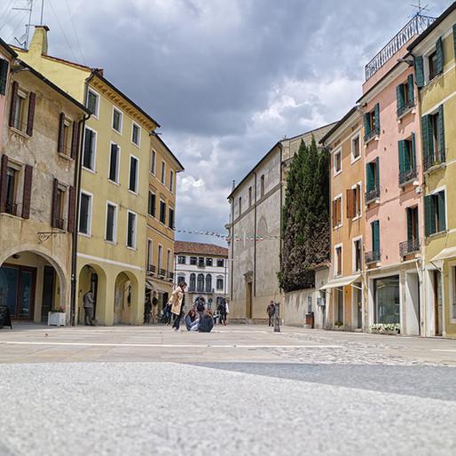 Inaugurazione della nuova piazza di Santa Maria dei Battuti, Treviso