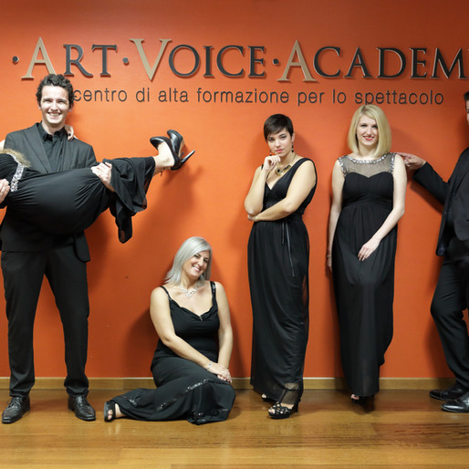 Foto del coro di Art Voice Academy in occasione del concerto di Natale in Vaticano