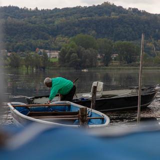La pesca lacustre
