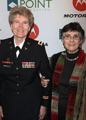 Margarethe Cammermeyer And Diane Divelbe