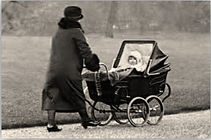 During Nazi Occupation, women would place guns in baby carriages for resistance fighters.