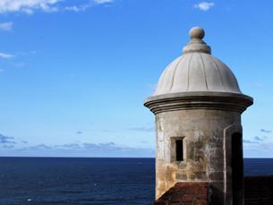 Caminhada até Viejo San Juan.