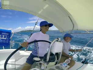 Sailing em Puerto Rico: segunda aula!