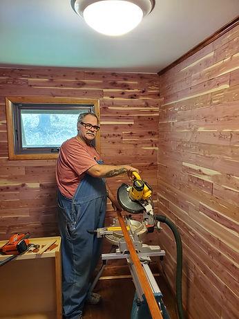 Jon Frey Lehigh Valley remodeling - cedar closet