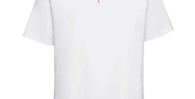 """T-shirt Cali """"Classic Colors"""" Blanc"""