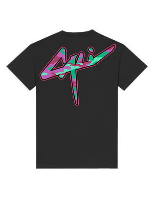 "T-shirt Cali xCamo ""Purple Juice"""