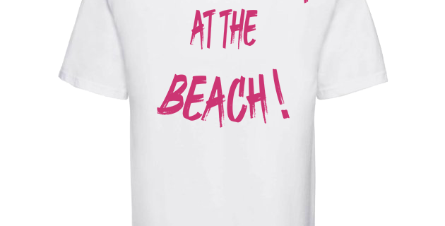 "T-shirt blanc Cali ""Life Is Better At The Beach"""
