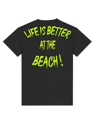 "T-shirt Cali x ""Life Is Better At The Beach !"""