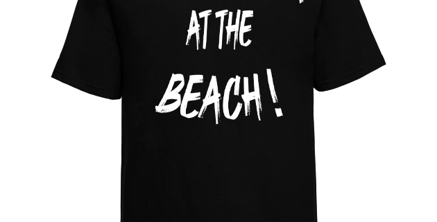 "T-shirt Cali ""Life Is Better At The Beach!"""
