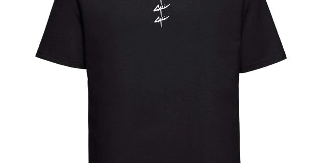 """T-shirt Cali """"Triple"""" Noir"""